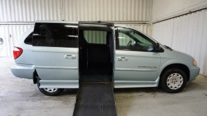 Used Wheelchair Van For Sale: 2002 Chrysler Town & Country LX Wheelchair Accessible Van For Sale with a Non Branded - Please See Description on it. VIN: 2C4GP44342R610868