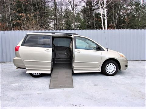Used Wheelchair Van For Sale: 2010 Toyota Sienna LE Wheelchair Accessible Van For Sale with a Non Branded - Please See Description on it. VIN: 5TDKK4CC6AS291408