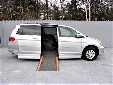 Used Wheelchair Van For Sale: 2010 Honda Odyssey LX Wheelchair Accessible Van For Sale with a Non Branded - Please See Description on it. VIN: 5FNRL3H4XAB057610