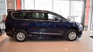 New Wheelchair Van For Sale: 2019 Chrysler Pacifica Touring Wheelchair Accessible Van For Sale with a BraunAbility - Chrysler Pacifica Infloor on it. VIN: 2C4RC1BG4KR598049