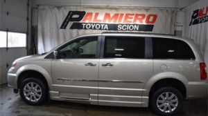 Used Wheelchair Van For Sale: 2012 Chrysler Town & Country Touring Wheelchair Accessible Van For Sale with a Eldorado National Amerivan - Dodge & Chrysler Amerivan on it. VIN: 2C4RC1CG6CR368349