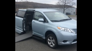 Used Wheelchair Van For Sale: 2017 Toyota Sienna LE Wheelchair Accessible Van For Sale with a VMI - Toyota NorthstarAccess360 on it. VIN: 5TDKZ3DC6HS826543