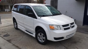 Used Wheelchair Van For Sale: 2010 Dodge Caravan  Wheelchair Accessible Van For Sale with a BraunAbility - Dodge Entervan XT on it. VIN: 2D4RN4DE2AR221129