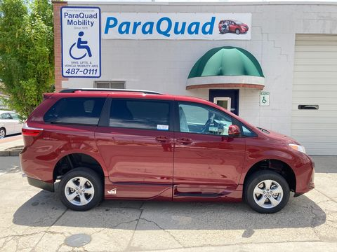 New Wheelchair Van For Sale: 2020 Toyota Sienna LE Wheelchair Accessible Van For Sale with a VMI - Toyota NorthstarAccess360 on it. VIN: 5TDKZ3DC0LS028189