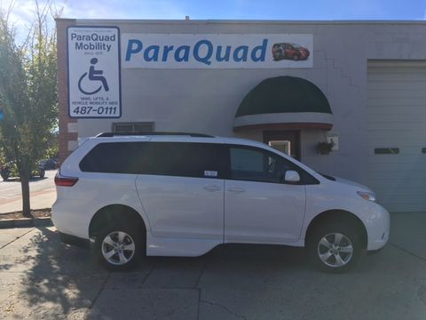 Used Wheelchair Van For Sale: 2019 Toyota Sienna LE Wheelchair Accessible Van For Sale with a VMI - Toyota NorthstarAccess360 on it. VIN: 5TDKZ3DC4KS992549