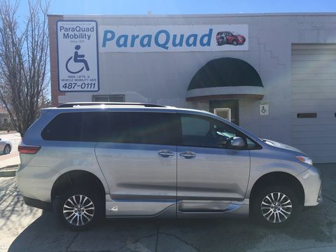 Used Wheelchair Van For Sale: 2020 Toyota Sienna XLE Wheelchair Accessible Van For Sale with a VMI - Toyota NorthstarAccess360 on it. VIN: 5TDYZ3DC8LS025549