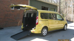 Used Wheelchair Van For Sale: 2015 Ford Transit Connect Wagon XLT w/Rear Liftgate LWB  Wheelchair Accessible Van For Sale with a  on it. VIN: NM0GE9F73F1212237