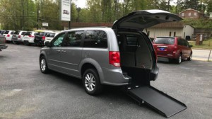 Used Wheelchair Van For Sale: 2016 Dodge Caravan  Wheelchair Accessible Van For Sale with a  on it. VIN: 2C4RDGCG1GR330159