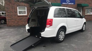 Used Wheelchair Van For Sale: 2016 Dodge Caravan  Wheelchair Accessible Van For Sale with a ATS - ATS Rear Entry on it. VIN: 2C4RDGBG1GR144199