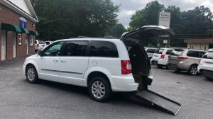 Used Wheelchair Van For Sale: 2016 Chrysler Town & Country Touring Wheelchair Accessible Van For Sale with a ATS - ATS Rear Entry on it. VIN: 2C4RC1BG2GR246210