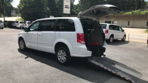 Used Wheelchair Van For Sale: 2017 Dodge Caravan  Wheelchair Accessible Van For Sale with a  on it. VIN: 2C4RDGBG2HR558688