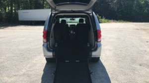 Used Wheelchair Van For Sale: 2017 Dodge Caravan  Wheelchair Accessible Van For Sale with a  on it. VIN: 2C4RDGCG4HR807006