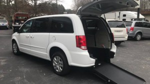 Used Wheelchair Van For Sale: 2016 Dodge Caravan  Wheelchair Accessible Van For Sale with a  on it. VIN: 2C4RDGBG7GR144191