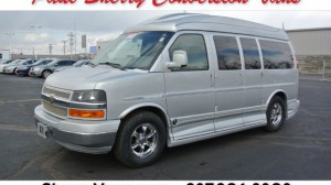 Used Wheelchair Van For Sale: 2012 Chevrolet Express LT Wheelchair Accessible Van For Sale with a  on it. VIN: 1GBSGDC43C1106763