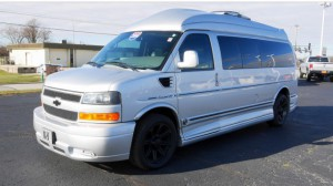 Used Wheelchair Van For Sale: 2014 Chevrolet Express LT Wheelchair Accessible Van For Sale with a  on it. VIN: 1GBWGLCG5E1119913