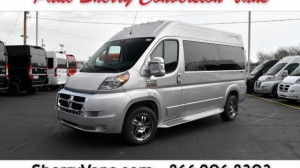Used Wheelchair Van For Sale: 2017 Ram Promaster High Roof Wheelchair Accessible Van For Sale with a  on it. VIN: 3C6TRVBG0HE501927