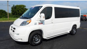 Used Wheelchair Van For Sale: 2014 Ram Promaster Low Roof Wheelchair Accessible Van For Sale with a  on it. VIN: 3C6TRVAG1EE128278