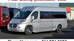 New Wheelchair Van For Sale: 2018 Ram Promaster High Roof Wheelchair Accessible Van For Sale with a  on it. VIN: 3C7WRVUG1JE132300