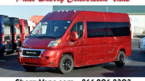 New Wheelchair Van For Sale: 2019 Ram Promaster High Roof Wheelchair Accessible Van For Sale with a  on it. VIN: 3C6TRVPGXKE500994
