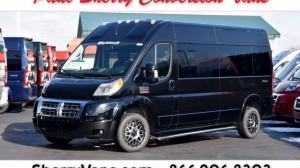 New Wheelchair Van For Sale: 2018 Ram Promaster High Roof Wheelchair Accessible Van For Sale with a  on it. VIN: 3C7WRVPGXJE148071