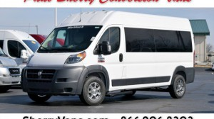 New Wheelchair Van For Sale: 2018 Ram Promaster High Roof Wheelchair Accessible Van For Sale with a  on it. VIN: 3C7WRVPG2JE147951