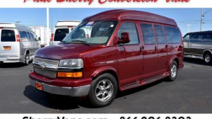 Used Wheelchair Van For Sale: 2011 Chevrolet Express LT Wheelchair Accessible Van For Sale with a  on it. VIN: 1GBSGDC44B1180529