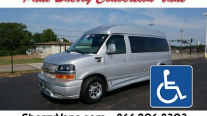 Used Wheelchair Van For Sale: 2016 Chevrolet Express LT Wheelchair Accessible Van For Sale with a  on it. VIN: 1GCWGAFG9G1173763