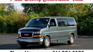 Used Wheelchair Van For Sale: 2017 GMC Savana LT Wheelchair Accessible Van For Sale with a  on it. VIN: 1GTW7AFG1H1120086