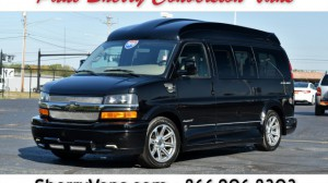 Used Wheelchair Van For Sale: 2016 Chevrolet Express LT Wheelchair Accessible Van For Sale with a  on it. VIN: 1GCWGAFG8G1202489