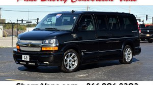Used Wheelchair Van For Sale: 2017 Chevrolet Express LT Wheelchair Accessible Van For Sale with a  on it. VIN: 1GCWGAFG6H1132878