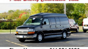 Used Wheelchair Van For Sale: 2011 Chevrolet Express LT Wheelchair Accessible Van For Sale with a  on it. VIN: 1GBSGDC42B1137050