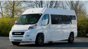 New Wheelchair Van For Sale: 2019 Ram Promaster High Roof Wheelchair Accessible Van For Sale with a  on it. VIN: 3C6TRVPG7KE502508