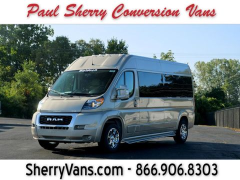 New Wheelchair Van For Sale: 2020 Ram Promaster High Roof Wheelchair Accessible Van For Sale with a  on it. VIN: 3C6TRVPG2LE139570