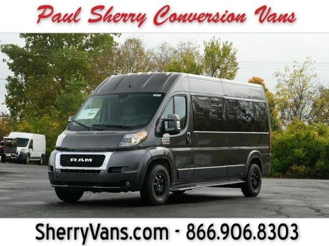 New Wheelchair Van For Sale: 2020 Ram Promaster High Roof Wheelchair Accessible Van For Sale with a  on it. VIN: 3C6TRVPG2LE139536