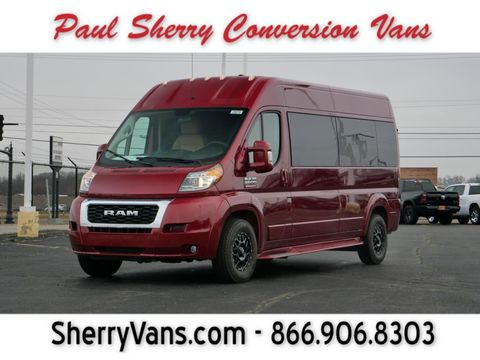 New Wheelchair Van For Sale: 2020 Ram Promaster High Roof Wheelchair Accessible Van For Sale with a  on it. VIN: 3C6TRVPGXLE135945