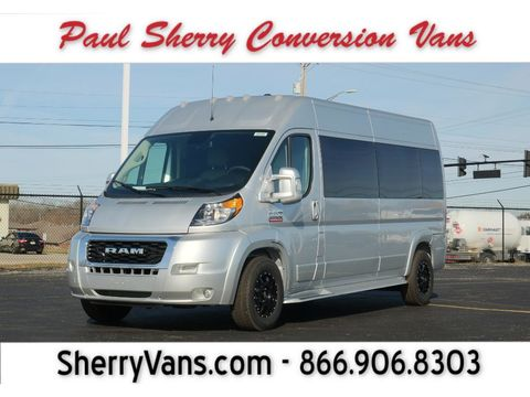 New Wheelchair Van For Sale: 2021 Ram Promaster High Roof Wheelchair Accessible Van For Sale with a  on it. VIN: 3C6LRVPG1ME511546