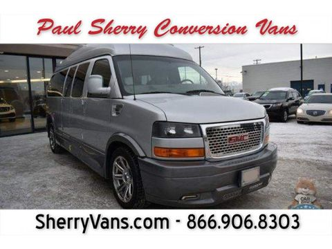 Used Wheelchair Van For Sale: 2015 GMC Savana LT Wheelchair Accessible Van For Sale with a  on it. VIN: 1GDW7LCG4F1113643