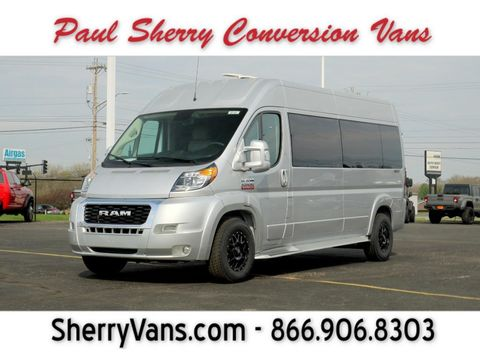 New Wheelchair Van For Sale: 2021 Ram Promaster High Roof Wheelchair Accessible Van For Sale with a  on it. VIN: 3C6LRVPG4ME501657