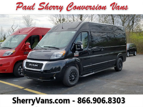 New Wheelchair Van For Sale: 2021 Ram Promaster High Roof Wheelchair Accessible Van For Sale with a  on it. VIN: 3C6LRVPG4ME508088