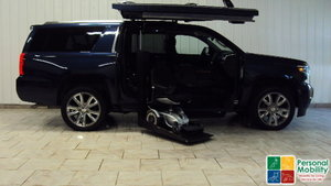 Used Wheelchair Van For Sale: 2017 Chevrolet Suburban LE Wheelchair Accessible Van For Sale with a ATC Wheelchair Truck Conversions Chevy, GMC & Cadalliac Suv's on it. VIN: 1GNSKJKCXHR334227