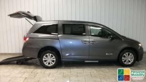 BraunAbility Honda Rear Entry Wheelchair Van Conversion
