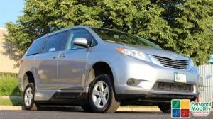Used Wheelchair Van For Sale: 2015 Toyota Sienna LE Wheelchair Accessible Van For Sale with a VMI VMI Northstar E Toyota  on it. VIN: 5TDKK3DC8FS610212