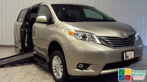Used Wheelchair Van For Sale: 2015 Toyota Sienna XLE Wheelchair Accessible Van For Sale with a VMI Toyota Summit Access360 on it. VIN: 5TDYK3DC7FS534217