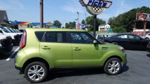 Used Wheelchair Van For Sale: 2015 Kia Soul +  Wheelchair Accessible Van For Sale with a Freedom Motors - Kia Soul Wheelchair Accessible on it. VIN: KNDJP3A51F7769702