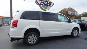 Used Wheelchair Van For Sale: 2011 Dodge Caravan  Wheelchair Accessible Van For Sale with a FR Wheelchair Vans - Dodge Rear Entry on it. VIN: 2D4RN4DG7BR773793