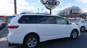 Used Wheelchair Van For Sale: 2019 Toyota Sienna  Wheelchair Accessible Van For Sale with a FR Wheelchair Vans - Toyota Rear Entry on it. VIN: 5TDKZ3DC2KS015149