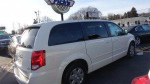 Used Wheelchair Van For Sale: 2012 Dodge Caravan  Wheelchair Accessible Van For Sale with a FR Wheelchair Vans - Dodge Rear Entry on it. VIN: 2C4RDGBG0CR351807