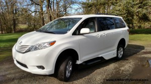 New Wheelchair Van For Sale: 2017 Toyota Sienna LE 7-Passenger Mobility  Wheelchair Accessible Van For Sale with a VMI - Toyota NorthstarAccess360 on it. VIN: 5TDKZ3DC8HS785249