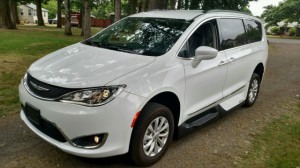 Used Wheelchair Van For Sale: 2017 Chrysler Pacifica Touring-L  Wheelchair Accessible Van For Sale with a VMI - Chrysler Pacifica Northstar Access360 by VMI on it. VIN: 2C4RC1BG3HR523593