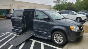 Used Wheelchair Van For Sale: 2014 Dodge Caravan  Wheelchair Accessible Van For Sale with a VMI - Dodge Northstar E on it. VIN: